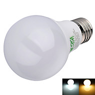 E26/E27 LED-globlampor A60(A19) 16 lysdioder SMD 2835 Dekorativ Varmvit Kallvit 600lm 2800-3200/6000-6500K AC 100-240V
