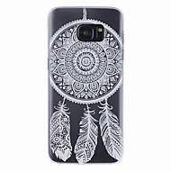 """Недорогие Чехлы и кейсы для Galaxy S-Для Samsung Galaxy S7 Edge Полупрозрачный Кейс для Задняя крышка Кейс для Рисунок """"Ловец снов"""" PC Samsung S7 edge / S7 / S6 edge / S6"""
