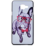 Кейс для Назначение SSamsung Galaxy Кейс для  Samsung Galaxy С узором Задняя крышка С собакой PC для A7(2016) A5(2016) A3(2016)
