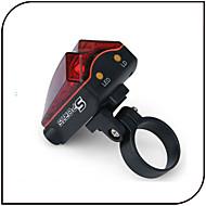 billige -Sykkellykter Baklys til sykkel Laser LED - Sykling Vanntett Laser AAA 80 Lumens Batteri Sykling-XIE SHENG®