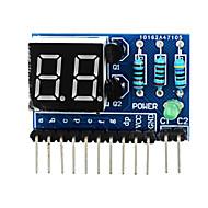 """お買い得  Arduino 用アクセサリー-アルドゥイーノ+ラズベリーパイのための2桁のアノードコモン0.36 """"デジタルディスプレイモジュール - ブルー"""