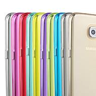 Недорогие Чехлы и кейсы для Galaxy S7-Кейс для Назначение SSamsung Galaxy Samsung Galaxy S7 Edge Прозрачный Кейс на заднюю панель Однотонный ТПУ для S7 edge / S7