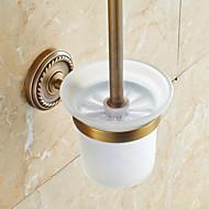 baratos -Suporte para Escova de Banheiro / Cobre Envelhecido Tradicional