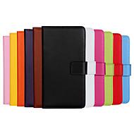 Недорогие Чехлы и кейсы для Galaxy J5-Кейс для Назначение SSamsung Galaxy Кейс для  Samsung Galaxy Бумажник для карт Кошелек со стендом Флип Чехол Сплошной цвет Кожа PU для J7