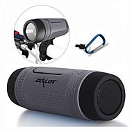 abordables Altavoz Exterior-Al Aire Libre Impermeable Portátil Bult-en el mic Soporta tarjetas de memoria la ayuda FM Bluetooth 4.0 USB altavoces inalámbricos
