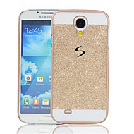 Недорогие Чехлы и кейсы для Galaxy S-Кейс для Назначение SSamsung Galaxy Кейс для  Samsung Galaxy Стразы Кейс на заднюю панель Сияние и блеск ПК для S8 Plus / S8 / S5 Mini