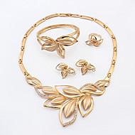 ieftine Bijuterii&Ceasuri-Pentru femei Set bijuterii - Ștras Declarație, European, Modă Include Pentru Nuntă Petrecere Zi de Naștere / Inele / Σκουλαρίκια / Coliere / Brățară