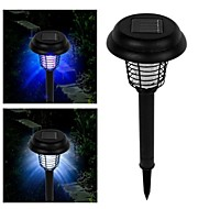 Solar LED uv-lamp licht bug zapper plaag insect muggen killer voor de tuin yard