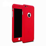 Недорогие Кейсы для iPhone 8 Plus-Кейс для Назначение Apple iPhone 8 iPhone 8 Plus Кейс для iPhone 5 Защита от удара Кейс на заднюю панель броня Твердый ПК для iPhone 8