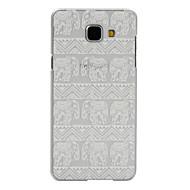 Назначение Кейс для  Samsung Galaxy Чехлы панели Прозрачный С узором Задняя крышка Кейс для Слон PC для Samsung A7(2016) A5(2016)