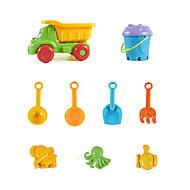 저렴한 -장난감 자동차 / 비치 완구 / 역할 놀이 재미 / 큰 사이즈 휴일 ABS 9 pcs 조각 남아 / 여아 아동용 선물