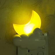 linda lua luz inteligente de emergência controlada levou luz da noite para as crianças sala de decoração de casa