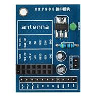 お買い得  Arduino 用アクセサリー-arduinoの+ラズベリーパイのためのnrf905無線モジュールソケットアダプタプレートボード - ブルー