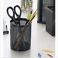 preiswerte Schreibwaren-haltbare Organisator Eisengeflecht Stift Schreibtisch Zylinder Topf Fall Behälterhalterung Büro