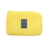 お買い得  トラベル小物-パスポート&IDホルダー 旅行かばんオーガナイザー 小物収納用バッグ のために USBケーブル クロス ナイロン / トラベル