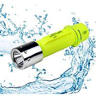 1/1 Светодиодные фонари LED 500 Люмен 1 Режим - Батарейки не входят в комплект Водонепроницаемый для Походы/туризм/спелеология