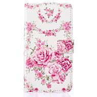 розовые розы узор пу кожаный материал крышка телефона для Samsung Galaxy J5 / J510 / g360 / G530 / i9060