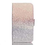 billige Etuier til Samsung-Etui Til Samsung Galaxy Samsung Galaxy etui Kortholder Pung Med stativ Flip Fuldt etui Glitterskin PU Læder for J5 (2016)