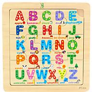 preiswerte Spielzeuge & Spiele-Holzpuzzle Bildungsspielsachen Spielzeuge Holz Zeichentrick Stücke Kinder Geschenk