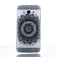 For Samsung Galaxy etui Transparent Etui Bagcover Etui Mandala-mønster TPU for Samsung Grand Prime Core Prime