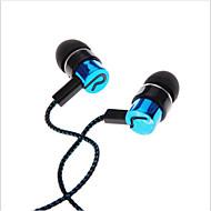 iphone 6 iphone 6プラスのための耳のイヤホン高性能ヘッドフォンで3.5ミリメートル