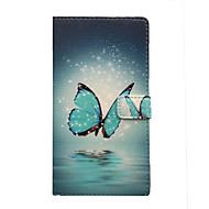 Mert Samsung Galaxy tok Kártyatartó / Állvánnyal / Flip / Minta / Mágneses Case Teljes védelem Case Pillangó Műbőr SamsungA7(2016) /