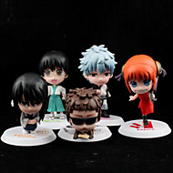 Gintama Andre PVC Anime Action Figures Model Legetøj Doll Toy