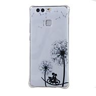 Для Кейс для Huawei / P9 Защита от удара Кейс для Задняя крышка Кейс для Одуванчик Мягкий TPU HuaweiHuawei P9 / Huawei Y6/Honor 4A /