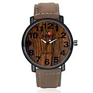 Недорогие Фирменные часы-SOXY Муж. Наручные часы Горячая распродажа Кожа Группа Кулоны Коричневый