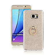 For Samsung Galaxy Note Ring Holder Case Back Cover Case Color Gradient TPU Samsung Note 5 / Note 4 / Note 3