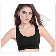 voordelige Sportkleding-Dames Medium ondersteuning Korte hardlooptop Anti-Shake Sneldrogend Hoge Ademende Werking (>15,001g) Ademend Compressie Schokbestendig