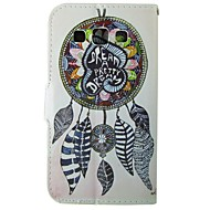 cheap Cases / Covers for Samsung-Case For Samsung Galaxy Samsung Galaxy Case Card Holder Wallet with Stand Flip Full Body Cases Dream Catcher PU Leather for Trend Duos J5