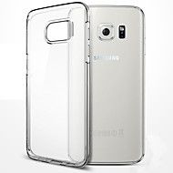 Pour samsung galaxy s7 bord case tpu soft transparent case s7 s6 s5 s4 edge plus s8 plus s8