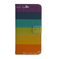 Недорогие Чехлы и кейсы для Galaxy J-Кейс для Назначение SSamsung Galaxy Кейс для  Samsung Galaxy Бумажник для карт Кошелек со стендом Флип Чехол Полосы / волосы Кожа PU для