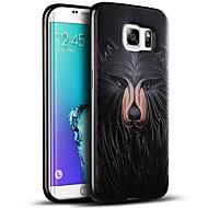 Для Samsung Galaxy S7 Edge С узором Кейс для Задняя крышка Кейс для Армированный TPU Samsung S7 edge / S7 / S6 edge plus / S6 edge / S6