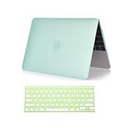 """hesapli -macbook air 11 """"/ 13"""" (çeşitli renklerde) için klavye kapağı 1 mat plastik sert tam vücut halinde 2 yeni"""