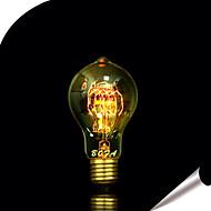 Χαμηλού Κόστους -1pc 25W E27 E26/E27 E26 A60(A19) Θερμό Λευκό κ Λαμπτήρας πυρακτώσεως Vintage Edison AC 110-130V AC 220-240V V