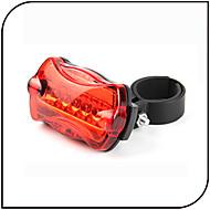 povoljno -sigurnosna svjetla Stražnje svjetlo za bicikl LED - Biciklizam Vodootporno protiv klizanja LED svjetlo AAA 80 Lumena Baterija Biciklizam