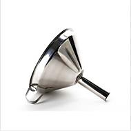お買い得  キッチン用小物-キッチンツール ステンレス鋼 クリエイティブキッチンガジェット 漏斗 液体のための 1個