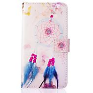 колокольчики перо шаблон PU кожаный материал крышка телефона для Samsung Galaxy J5 / J510 / g360 / G530 / i9060