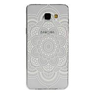 Недорогие Чехлы и кейсы для Galaxy A8-Кейс для Назначение SSamsung Galaxy Кейс для  Samsung Galaxy Полупрозрачный / С узором Кейс на заднюю панель Мандала ТПУ для A7(2016) / A5(2016) / A3(2016)