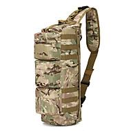 10-20 L 어깨에 매는 가방 캠핑 & 하이킹 / 피싱 / 승마 / 수렵 야외 / 성능 / 레저 스포츠 충격저항성 / 착용할 수 있는 카키 옥스포드 aile