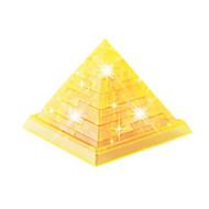 preiswerte Spielzeuge & Spiele-Bausteine 3D - Puzzle Holzpuzzle Kristallpuzzle Turm Berühmte Gebäude 3D Heimwerken Krystall ABS Weihnachten