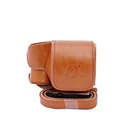 halpa -dengpin® PU nahka kameralaukku laukku kattaa Sony ilce-6300 a6300 16-50 linssi (eri värejä)