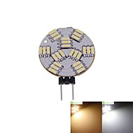 billiga -SENCART 1st 2 W LED-spotlights 3000-3500/6000-6500 lm G4 MR11 27 LED-pärlor SMD 4014 Bimbar Varmvit Naturlig vit 12 V / 5 st / RoHs