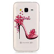 Назначение Кейс для  Samsung Galaxy Чехлы панели Прозрачный Задняя крышка Кейс для Соблазнительная девушка Термопластик для SSamsung
