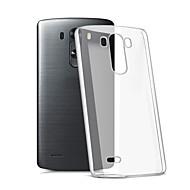 Voor LG hoesje Transparant hoesje Achterkantje hoesje Effen kleur Zacht TPU LG LG K10 / LG K7 / LG G5 / LG G4 / LG G3