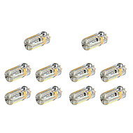 abordables SENCART-YWXLIGHT® 10pcs 4 W 360 lm G4 Luces LED de Doble Pin 72 Cuentas LED SMD 3014 Blanco Cálido / Blanco Fresco 12 V / 24 V / 10 piezas