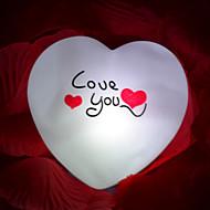 kreativ farve skiftende den farverige førte natlys Valentinsdag gave bryllup leverancer