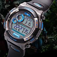 abordables Relojes de Marca-PASNEW Hombre Reloj Deportivo Digital 30 m PU Banda Digital Negro / Blanco / Azul - Negro / Rojo Negro / Amarillo Negro / Azul